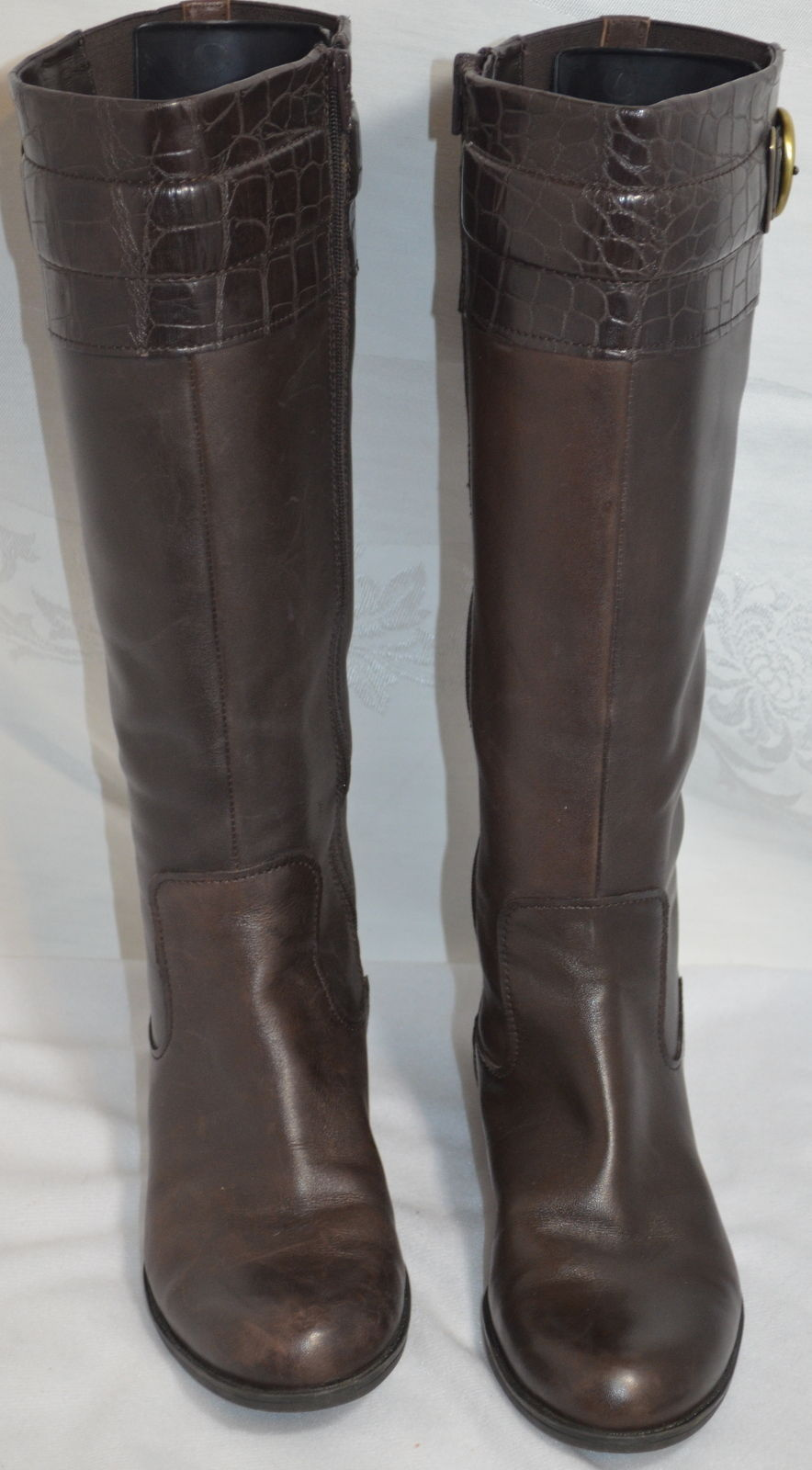 ec38e4e23c2 Naturalizer Hunter Brown Knee Boots Size 6.5M and 50 similar items