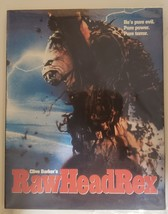 Rawhead Rex (with custom printed artwork and slipcover) [Blu-ray] image 1