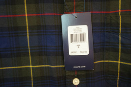 New With Tags NWT Chaps Ralph Lauren Heavy Cotton Button-Front Shirt, Small 9110 - $15.31