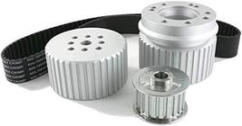 A-Team Performance Gilmer Style Pulley Kit 302-351w Compatible with Ford SBF Sma