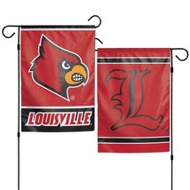 Louisville Cardinals Flag 12x18 Garden Style 2 Sided**Free Shipping** - $19.80