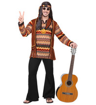 Men's Hippie Fancy Dress Costume (l) - $44.89