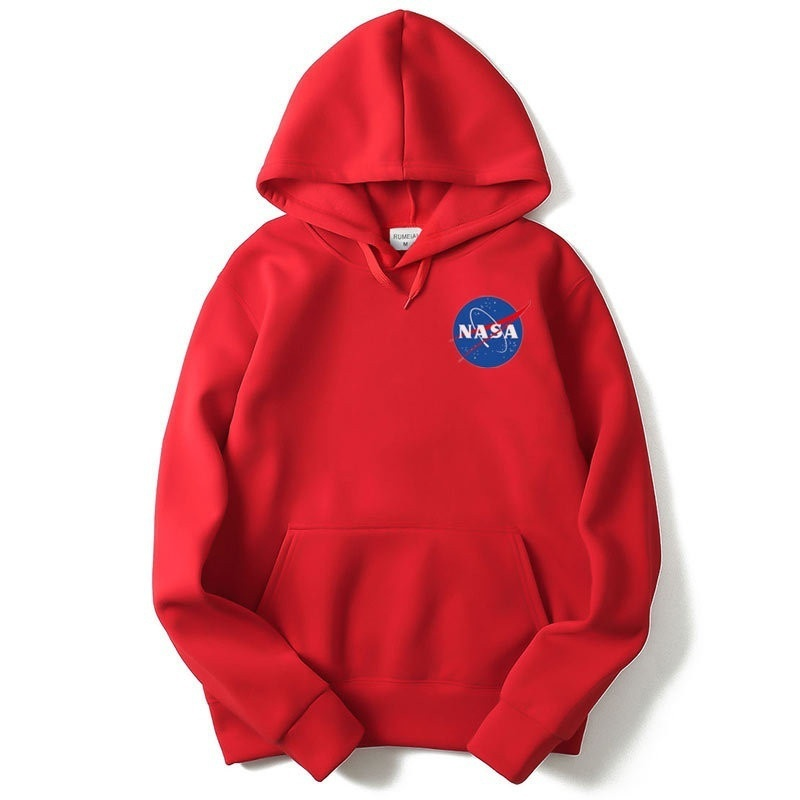 NASA Hoodie Coat Men Women's Streetwear Hip Hop Hooded Hoody Mens Hoodies Sweats