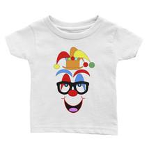 Ann Gertrude Short Sleeve Tee Infant/Toddler Clown Face (Bk Glasses-Oran... - $28.00