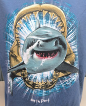North Port Florida Killer Shark Jaws XL T-Shirt - $15.59