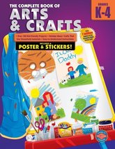 The Complete Book of Arts and Crafts, Grades K-4 [Paperback] School Specialty Pu