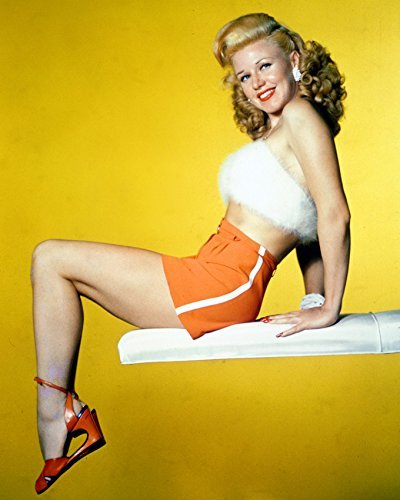 Ginger Rogers A Stunner Sexy Leggy Pose 16x20 Canvas Giclee
