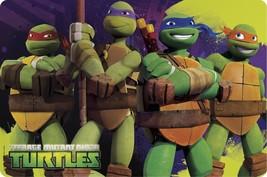 Ninja TURTLES-PLASTIC PLACEMAT-SET Of 4 - $12.95