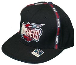 REEBOK HOUSTON ROCKETS HAT NEW 7 CAP THROWBACK WOOL NWT - $221,57 MXN