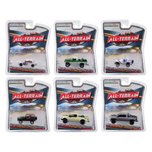 All Terrain Series 7, Set of 6 Cars 1/64 Diecast Models by Greenlight 35... - $51.53