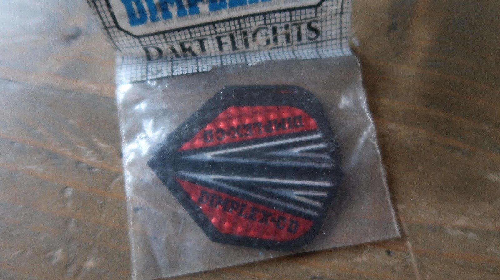 3 NEW Vintage Dart Flights DIMPLEX CD