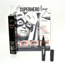IT Cosmetics Superhero Eye Liner Liquid Waterproof SUPER BLACK Travel Sz - $12.82