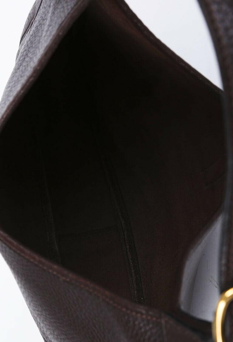 Vintage Hermes Trim 31 Buffalo Shoulder Bag image 5