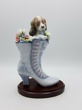 Lladro A Well Heeled Puppy Figurine 6744 w/ Box - $335.56