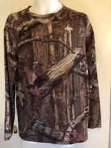 Démarreur Hommes Large Mossy Oak Rompt Manche Longue Camouflage Infinity... - $14.80
