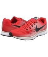 Men's Nike Zoom Pegasus 34 Running Shoes, 880555 602 Multi Sizes Red/Gre... - $109.95