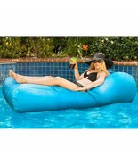 NEW Allure Sunbrella Float & Lounger, Cyan FREE SHIPPING - $234.99