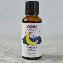 NOW Foods Peaceful Sleep Essential Oil Sleep Blend 1 fl oz (30 ml) Liquid - $12.69