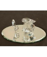 Swarovski Crystal Figurine Figure Baby Grand Piano on Mirror Base - $75.99