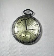 Vintage 1928 Elgin National Pocket Watch 12 Size 15 Jewel RUNS C2994 - $120.84