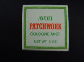 Avon Patchwork Cologne Mist 3 Fl Oz Original Box Vintage 1970s - $7.61