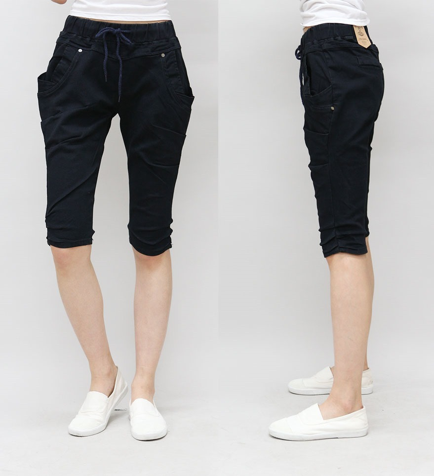 [Shoeming] No.700 Span band 5 parts exhaust pants Jeans Korean style