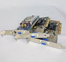Lot 3 Video Cards Asus 5185 and HP 5188 For Parts  - $9.49