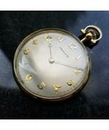 Tiffany & Co Raro Massiccio 18K Oro Pocketwatch, Comor Movimento, Circa ... - $2,728.23