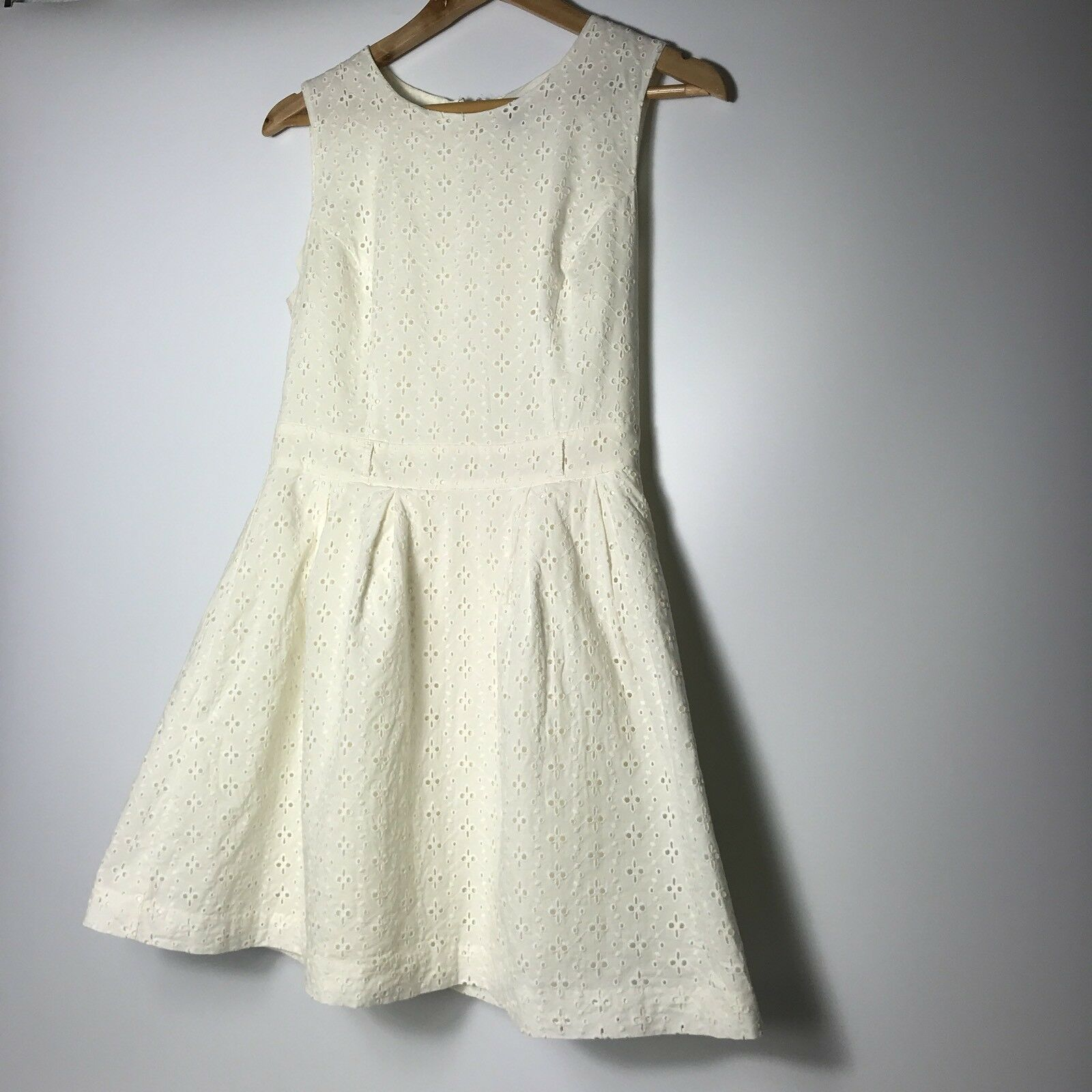 Forever 21 Women Size Medium Ivory Fit and Fare A-line Dress  image 8