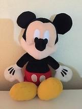 """DISNEY MICKEY MOUSE PLUSH BEAN BAG 10"""" Walt Disney Plush  - $7.66"""