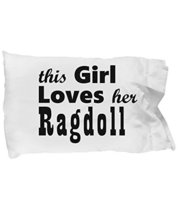 Unique Gifts Store Ragdoll - Pillow Case - $17.95