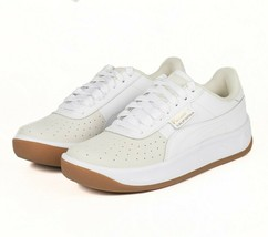Puma Exotic Whisper White Gold Leather 368135 01 Womens Shoes Size 6.5 - $59.95