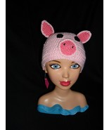 Made to order Handmade Crochet Pig Hat - $13.00+