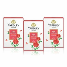 Yardley Soap, Royal Red Roses, 100g Each (Pack of 3) - $16.33