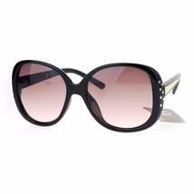 Womens Fashion Sunglasses Rhinestones Decor Stylish Square Eyewear - $12.95