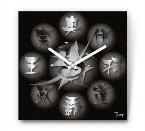 Primary image for Sengoku Design Fabric Wall clock Interior Date Masamune