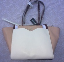 NWT GUESS Bryanna X-Large Satchel Tote With Pouch - $37.36