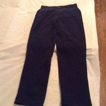 Size 12 Slim George pants uniform pleated front black Boys - $5.29