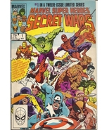 (CB-52) 1984 Marvel Comic Book: Marvel Super Heroes: Secret Wars #1 - $20.00