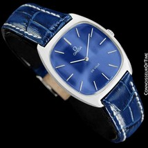 1979 OMEGA DE VILLE Vintage Mens Handwound Stainless Steel Watch - Mint ... - $975.10