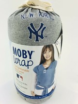 Moby Wrap MLB Edition Baby Carrier, New York Yankees, Gray Infant 1-35lbs - $42.70