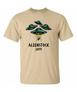 UFO Spaceships Alienstock 2019 T Shirt Storm Area 51 Alien Stock Nevada ... - $13.49+