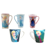 Disney Store Frozen Elsa or Anna Tall Lattee Mug 2013 New - $64.95+