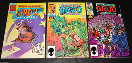 3 1982-85 GROO THE WANDERER PC & Marvel Comic Books MADs SERGIO ARAGONES... - $14.99