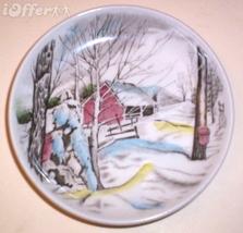 English STAFFORDSHIRE- Vintage Johnson Brothers Friendly Coaster (Sugar Maple) - $9.95