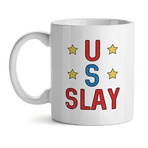 US Slay - Mad Over Mugs - Inspirational Unique Popular Office Tea Coffee Mug Gif - $20.53