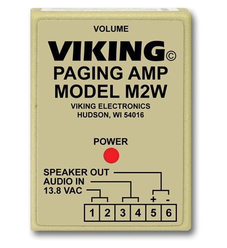 Primary image for Viking Electronics Paging Power Amp w/25AE Paging Horn Inc.