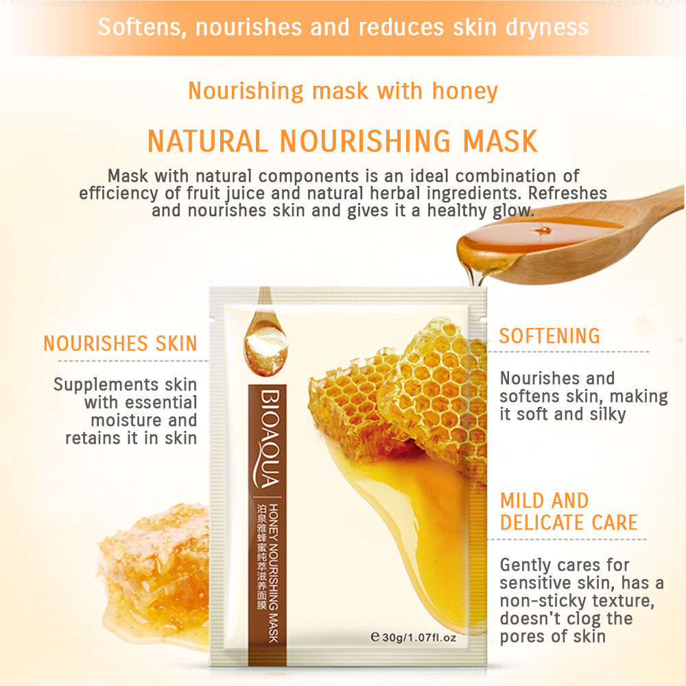 BIOAQUA It's Real Squeeze Refreshing Herbal Natural Mask Sheet Collagen Wholesal