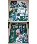 NFL New York JETS Official Yearbook 2000 & Poster Football Team Book Mag... - $12.99