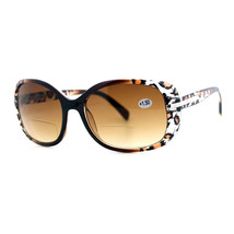 Womens Fashion Bifocal Lens Sunglasses Oval Rectangular Frame UV 400 - $8.86+
